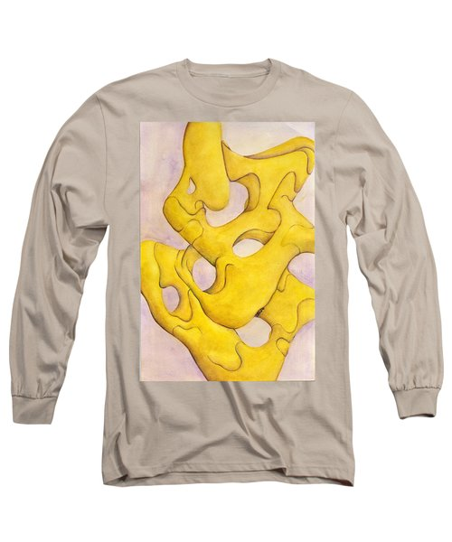 Me And Myself Long Sleeve T-Shirt by Versel Reid