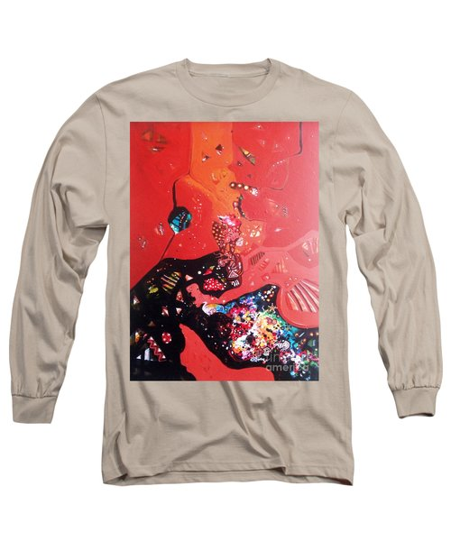 meditation I Long Sleeve T-Shirt by Sanjay Punekar