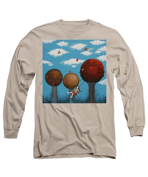 Meditation Under The Trees Long Sleeve T-Shirt