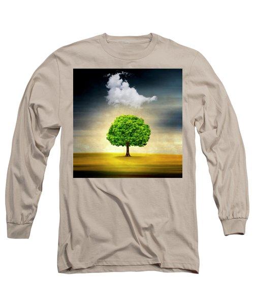 Medusa Rain Long Sleeve T-Shirt