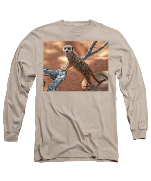 Meerkat Long Sleeve T-Shirt