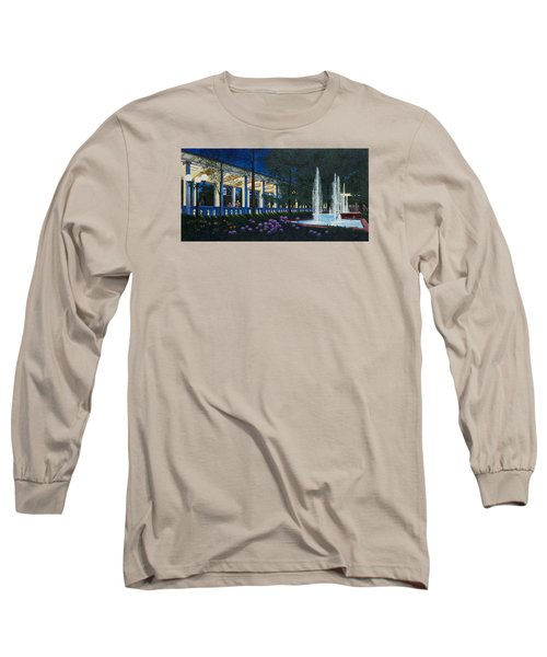 Meet Me At The Muny Long Sleeve T-Shirt by Michael Frank
