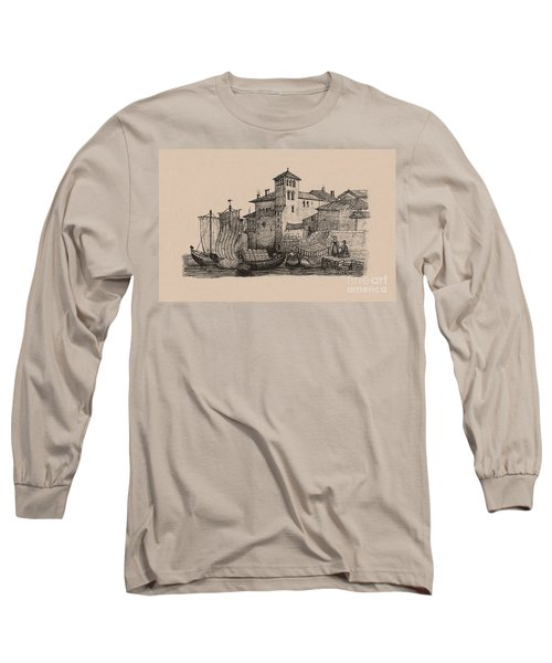 Meetings At The Dock Long Sleeve T-Shirt