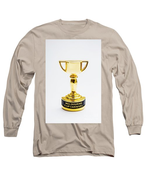 Melbourne Cup Horse Race Trophy Long Sleeve T-Shirt