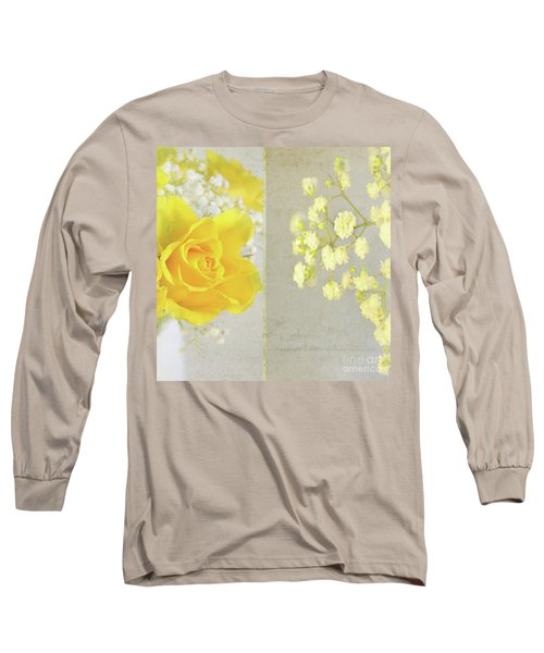 Long Sleeve T-Shirt featuring the photograph Mellow Yellow by Lyn Randle