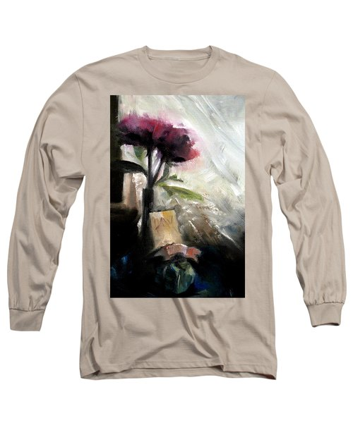 Memories In The Making Timeless Still Life Painting Long Sleeve T-Shirt by Michele Carter