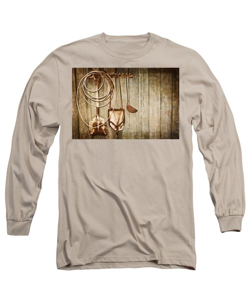 Long Sleeve T-Shirt featuring the photograph Memories Of Grandpa by Carolyn Marshall