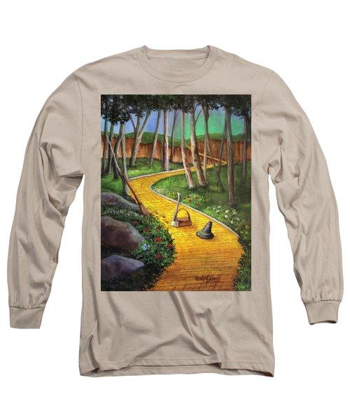 Memories Of Oz Long Sleeve T-Shirt by Randy Burns