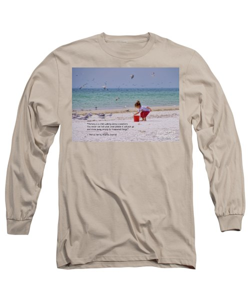 Long Sleeve T-Shirt featuring the photograph Memory by Peggy Hughes