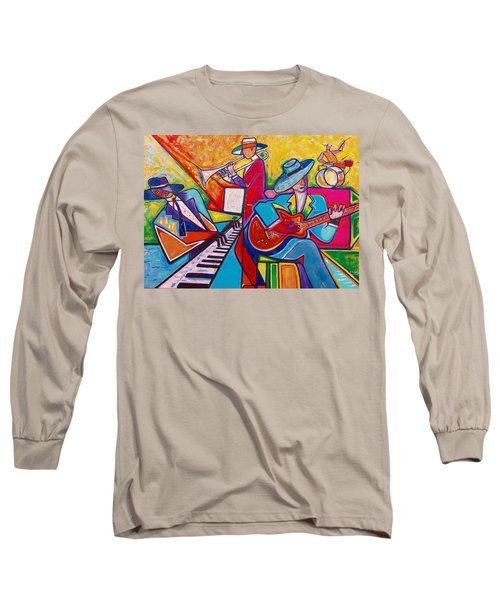 Memphis Music Long Sleeve T-Shirt by Emery Franklin