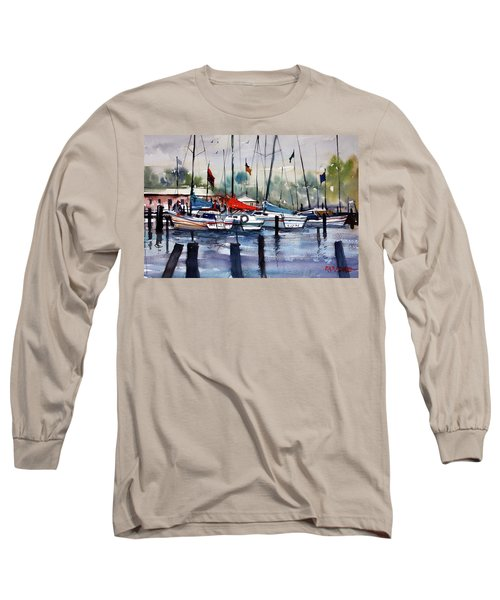 Menominee Marina Long Sleeve T-Shirt