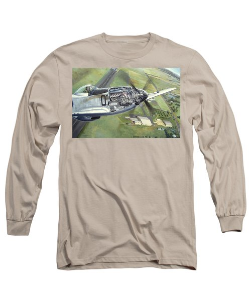 Merlin Magic Over Scone Long Sleeve T-Shirt