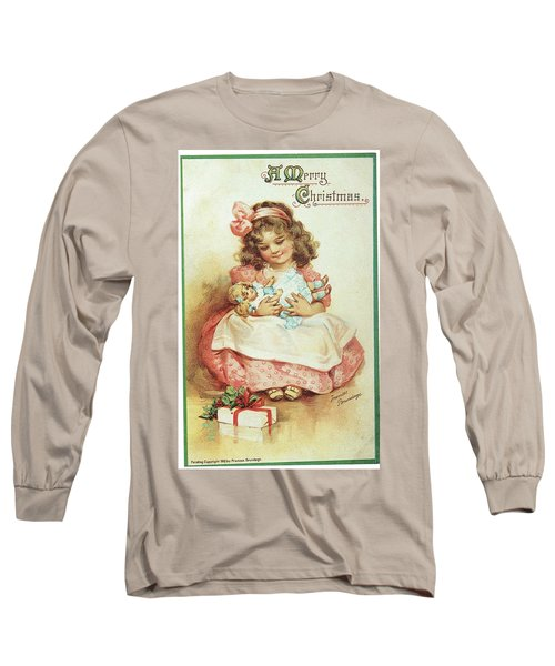 Merry Christmas For My Dolly Long Sleeve T-Shirt