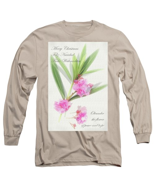 Merry Christmas Long Sleeve T-Shirt by Wilhelm Hufnagl