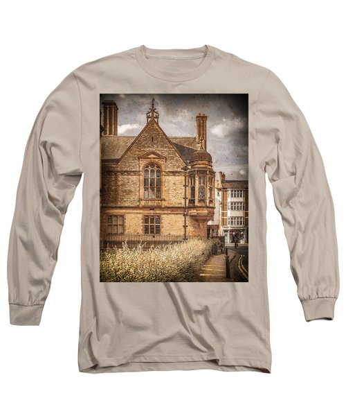 Oxford, England - Merton Street Long Sleeve T-Shirt
