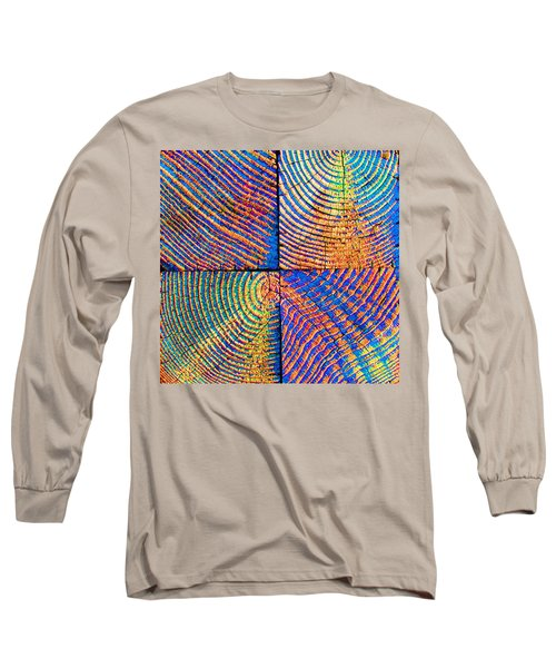 Long Sleeve T-Shirt featuring the photograph  Rainbow Powerwood by John King