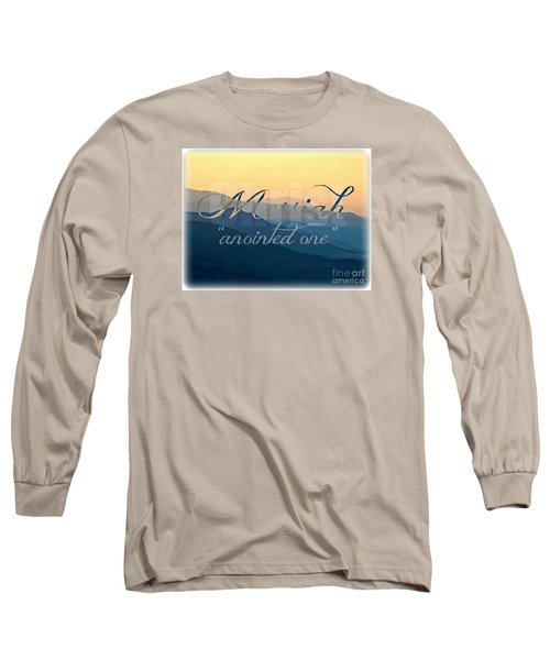 Messiah  Long Sleeve T-Shirt by Sharon Soberon