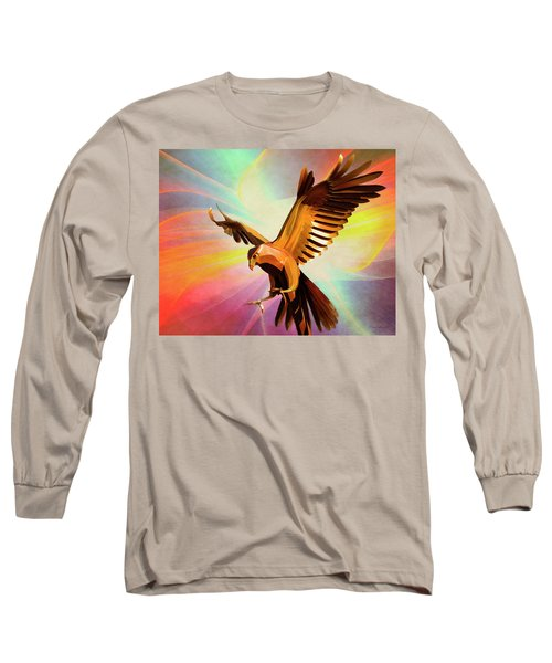Metal Bird 1 Of 4 Long Sleeve T-Shirt