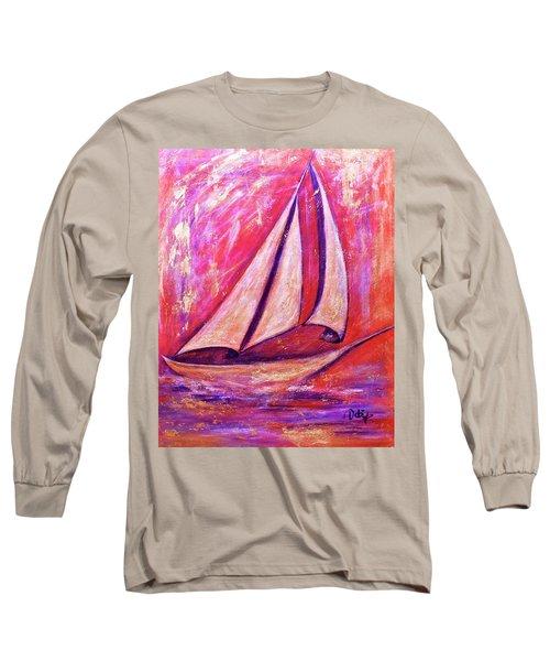 Metallic Sails Long Sleeve T-Shirt