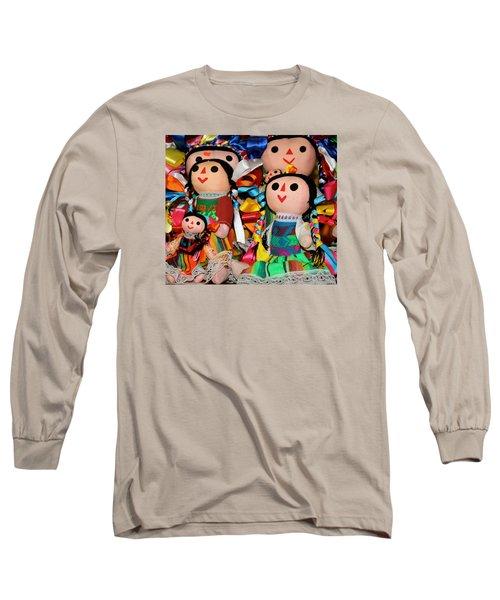 Mexican Dolls Long Sleeve T-Shirt