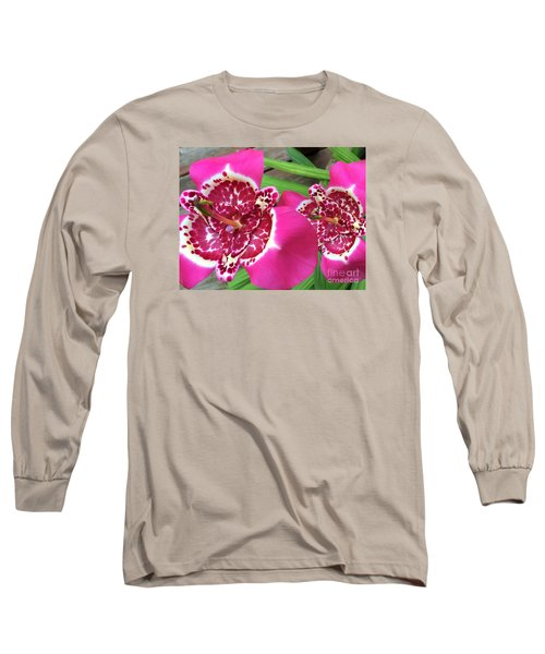 Mexican Shell Flower 1 Long Sleeve T-Shirt