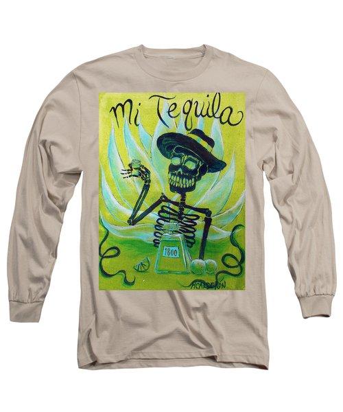 Mi Tequila Long Sleeve T-Shirt