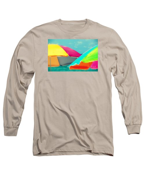 Long Sleeve T-Shirt featuring the photograph Miami Beach 1 by France Laliberte