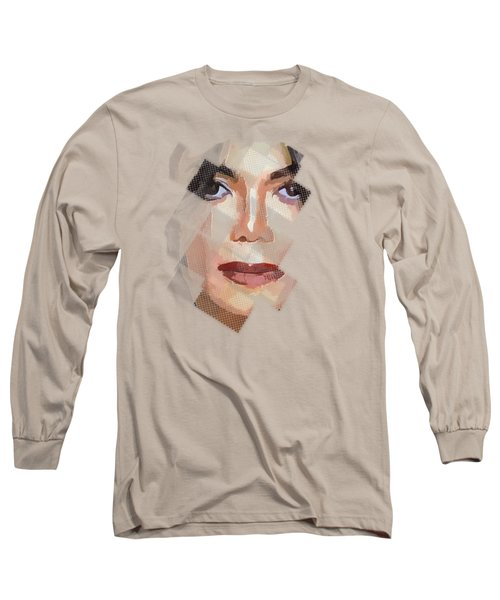 Michael Jackson T Shirt Edition  Long Sleeve T-Shirt by Yury Malkov