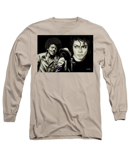 Michael Jackson - The Man In The Mirror Long Sleeve T-Shirt