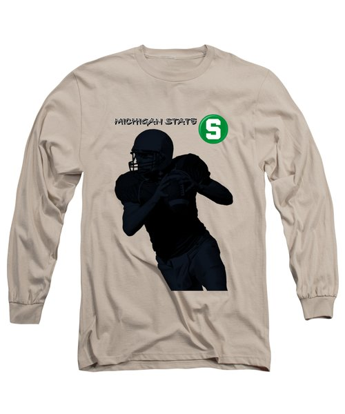 Michigan State Football Long Sleeve T-Shirt