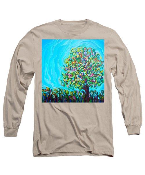 Mid-summer Tree Breath Long Sleeve T-Shirt