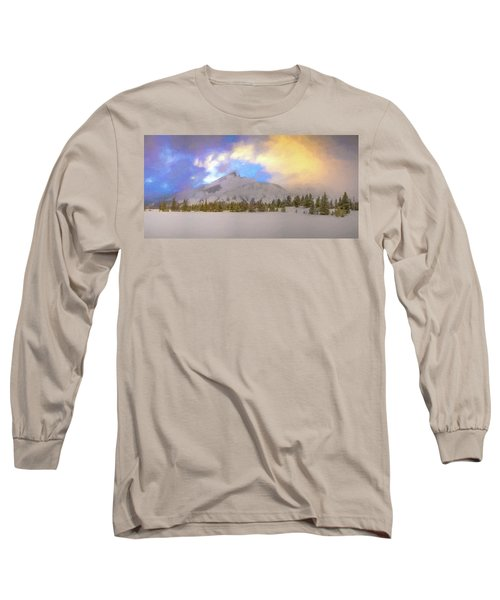 Mid-winter Sunset Long Sleeve T-Shirt