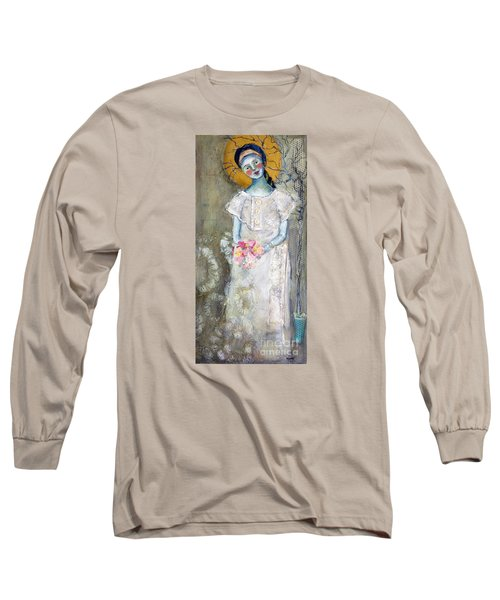 Midnight Muse Long Sleeve T-Shirt by Sharon Furner