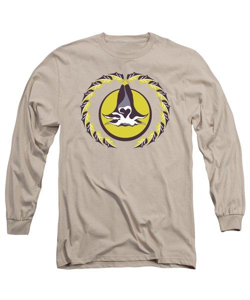 Midsummer Moonlight Floral Long Sleeve T-Shirt
