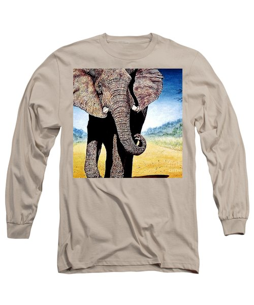 Mighty Elephant Long Sleeve T-Shirt