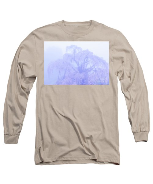 Miharu Takizakura Weeping Cherry01 Long Sleeve T-Shirt