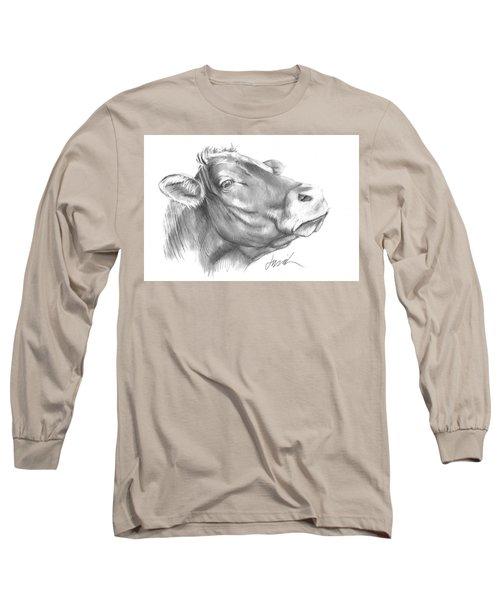 Milk Cow Long Sleeve T-Shirt