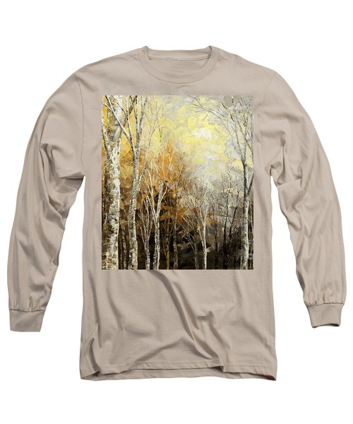 Mindful Melodies Long Sleeve T-Shirt by Tatiana Iliina