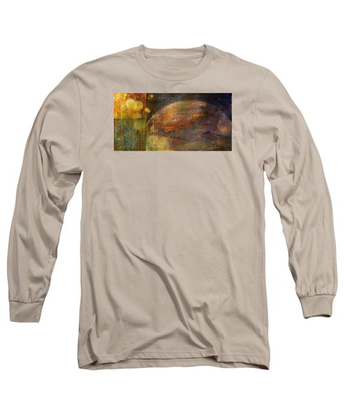 Mindfulness Long Sleeve T-Shirt by Theresa Marie Johnson