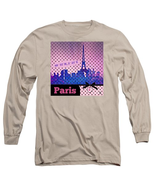 Mindy Jo's Paris  Long Sleeve T-Shirt
