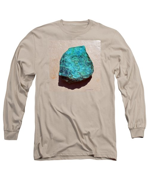 Mineral-chrysocolla Long Sleeve T-Shirt by Joan Hartenstein