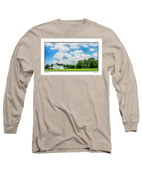 Mingoville Clouds Long Sleeve T-Shirt by R Thomas Berner