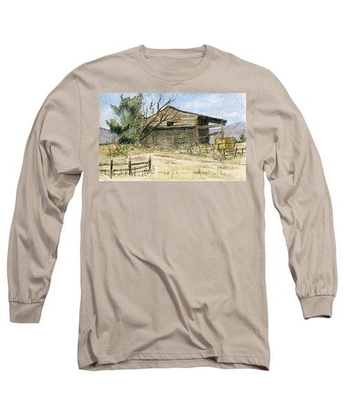 Mini No 1 Old Hay Shed Long Sleeve T-Shirt
