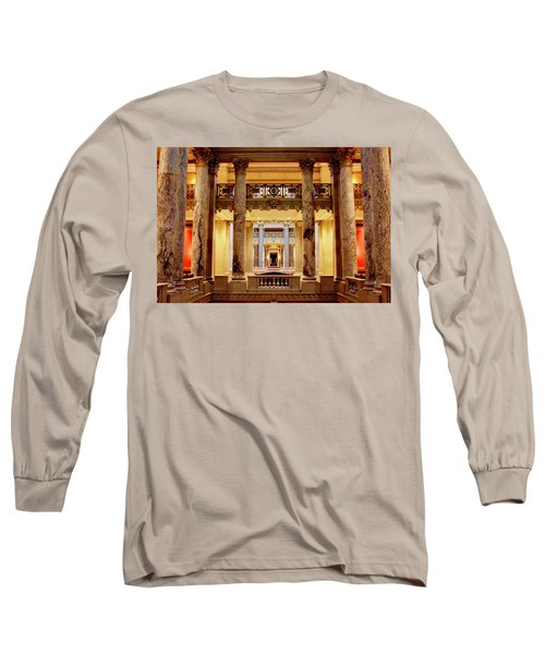 Minnesota Capitol Supreme Court Long Sleeve T-Shirt