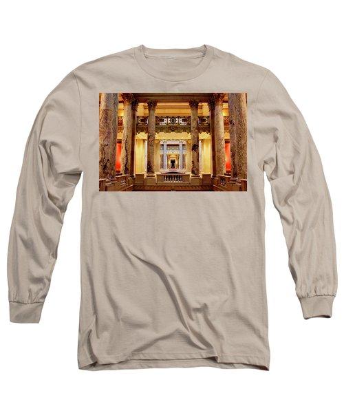 Minnesota Capitol Supreme Court Long Sleeve T-Shirt