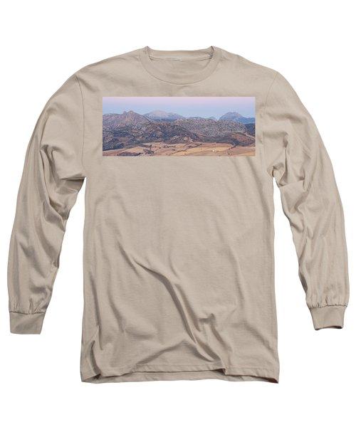 Mirador De Ronda At Dawn Long Sleeve T-Shirt