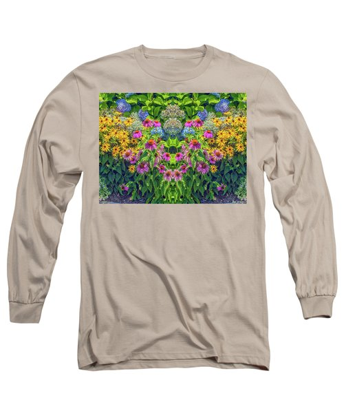 Flowers Pareidolia Long Sleeve T-Shirt