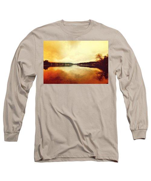 Mirror Lake At Sunset Long Sleeve T-Shirt