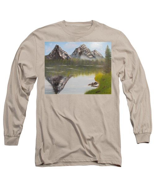 Mirror Mountain Long Sleeve T-Shirt by Thomas Janos