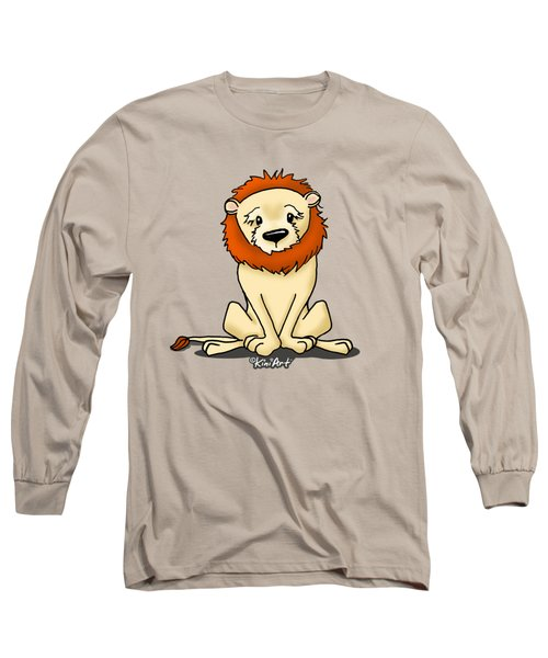 Lion Peaceful Reflection  Long Sleeve T-Shirt